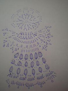 Moje wzory - Janina Brunka - Picasa Web Albums - Her Crochet Crochet Angel Pattern, Crochet Angels, Crochet Motif, Crochet Doilies, Crochet Christmas Ornaments, Christmas Crochet Patterns, Crochet Snowflakes, Christmas Angels, Yarn Crafts