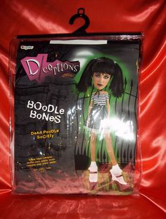 "Young adult ""BOoDLe BoNeS- DeAd PooDLe SoCiETy"" Halloween Costume by DISGUISE  #DeceptionsbyDisguise #CompleteCostume"