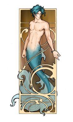 Merman by Anne Cain