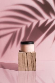These Natural Beauty Products Make Minimalism Look Good Product Styling Beauty Product On Wooden Block In Front Of Pink Background Palm Leaf Shadow Beauty Photography, Creative Photography, Photography Ideas, Photography Composition, Product Photography Tips, Natural Beauty Tips, Natural Skin Care, Best Beauty Tips, Beauty Secrets
