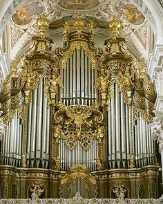 Cathedral of Pissau,Passau, Germany.