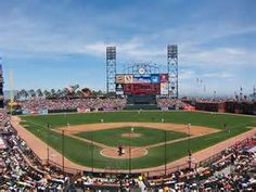 AT&T Park San Francisco, home of the Giants