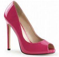Résultat d'images pour Pleaser Shoes Allure 684 Black Ankle Strap Sandals