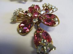 Vintage Antioinette Signed pendant/Brooch with by Lavendergems, $30.00