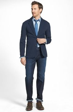 18fb39f1 Get it tailored to fit - def. want a men's blazer this year Knit Blazer