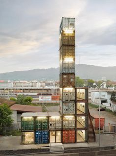 Shipping Container home #ReclaimedArchitecture https://www.facebook.com/ReclaimedArchitecture