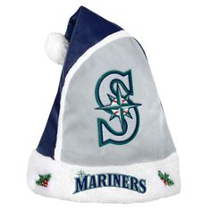 Forever Collectibles Seattle Mariners 2015 MLB Santa Hat