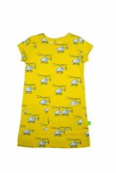 Ava and Luc horatio helicopter dress organic cotton £18 and free delivery | LittlePeco.com