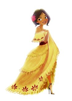 Mexican Girl Character #character #girl #female