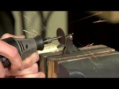 Gunsmithing - How to Remove the Hammer Spur on a Smith and Wesson (S&W) Revolver - YouTube