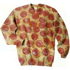 Pizza sweater