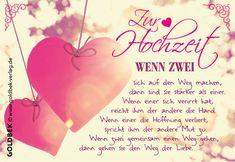 Postkarten - Hochzeit. Hochzeitskarte im romantischen Vintage-Look - I love it!