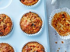 Apple& Carrot Muffins with Maple Syrup