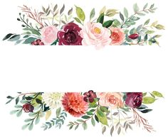 Super ideas for wedding design board invitation ideas Flower Background Wallpaper, Flower Backgrounds, Wallpaper Backgrounds, Watercolor Flowers, Watercolor Art, Wedding Cards, Wedding Invitations, To Do Planner, Floral Border