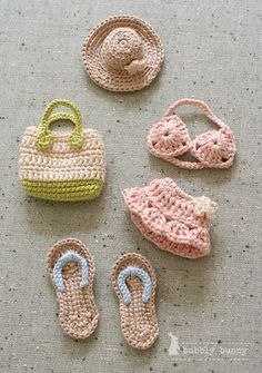 Mini Crochet: going to the beach!.