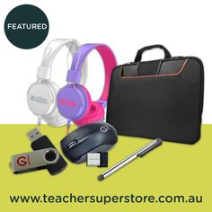 Our range of technology accessories includes everything you need to for learning and teaching in the century - from USB flash drives to device storage bags, and even headphones! Shop now. Teaching Aids, Bag Storage, 21st Century, Over Ear Headphones, Headset, Usb Flash Drive, Shop Now, Stationery, Range