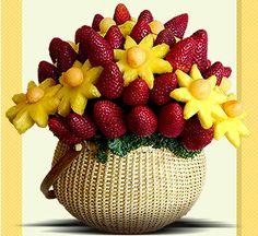 fruit centerpiece ideas BOUQUET FRUIT FLOWERS # GIFT # EASY # INEXPENSIVE +++ CENTRO DE MESA RAMO DE FLORES DE FRUTA REGALO SALUDABLE FACIL ELEGANTE CREATIVO | Honeydew Melon With Strawberry Orange Sauce Pictures, Images Of ...