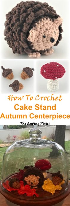 Crochet Cake, Crochet Crafts, Crochet Wreath, Crochet Toys, Easy Crochet Patterns, Crochet Designs, Sewing Patterns Free, Knitting Patterns, Amigurumi