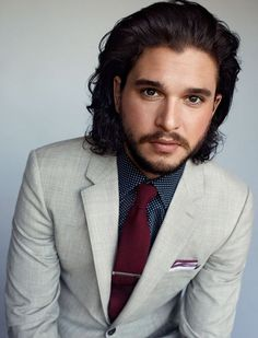 Kit Harington by Peggy Sirota