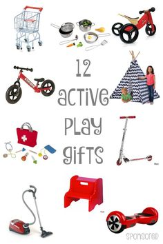 12 Active Play Gifts
