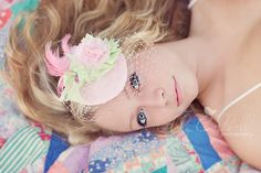 """This image was featured on Confessions of a Prop Junkie's blog for the """"Be Inspired"""" theme of fascinators."""