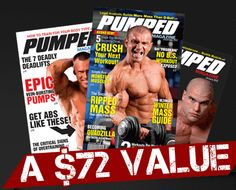 Free Subscription to Pumped Magazine