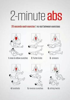 2-Minute Ab Exercise