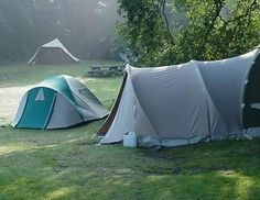 Camping in the not-so-wild jungle.