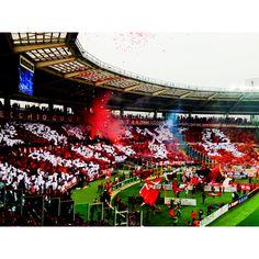 Torino FC, Curva Maratona, Stadio Olimpico, Turin, Italy #toro