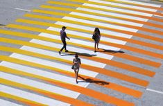 Colorful Crosswalks Make You Dizzy And Stagger — The Pop-Up City