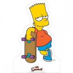 The Simpsons Bart Cardboard Stand-Up