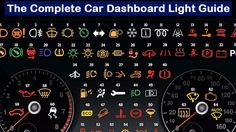 Because you're too embarrassed to ask, here's what every car dashboard light symbol means. | Tech | Someecards