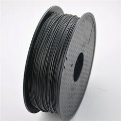 Printer Filament Carbon Fiber high strength Material for MakerBot/RepRap/UP/Mendel Best 3d Printer, 3d Printer Parts, 3d Printing Materials, 3d Printer Filament, 3d Printing Technology, Carbon Fiber, 3 D, 3d Shapes, Video Games