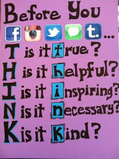 A canvas for my intermediate classroom.  Great idea ...too much exposure to social media with the intermediates