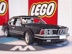 Two of my favorite things in life, combined: Bimmers & Legos.. Love!
