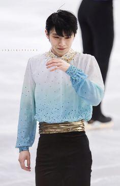 Ice Skating, Figure Skating, Grand Prix, Olympic Champion, Peach Blossoms, Hanyu Yuzuru, Skate, Sequin Skirt, Twitter Twitter