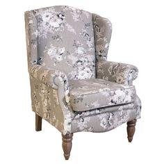 Lily Manor Luka Wingback Chair | Wayfair.co.uk