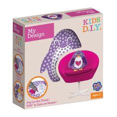 pingwin - tkana poduszeczka - My Design - DIY | MaliCiekawscy.pl