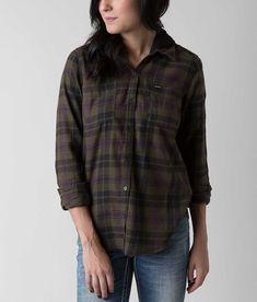 Hurley Wilson Hooded Shirt - Women's Shirts/Blouses in Cargo Khaki | Buckle