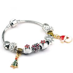 Hot Sell European Style kpop christmas xmas tree snow man pendant charm bracelet new year gift for women diy jewelry bracelet     Tag a friend who would love this!     FREE Shipping Worldwide     Buy one here---> http://jewelry-steals.com/products/hot-sell-european-style-kpop-christmas-xmas-tree-snow-man-pendant-charm-bracelet-new-year-gift-for-women-diy-jewelry-bracelet/    #earrings