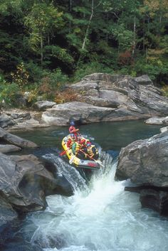 A must do in Georgia - whitewater rafting in the North Georgia Mountains!