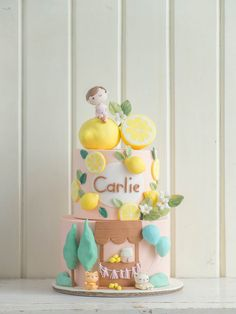 CTCakes - Carlie and her Lemonade Stand