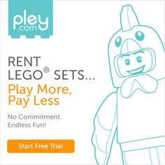 Lego rental! All the fun without the expense. Such a cool idea! | FunCheapOrFree.com