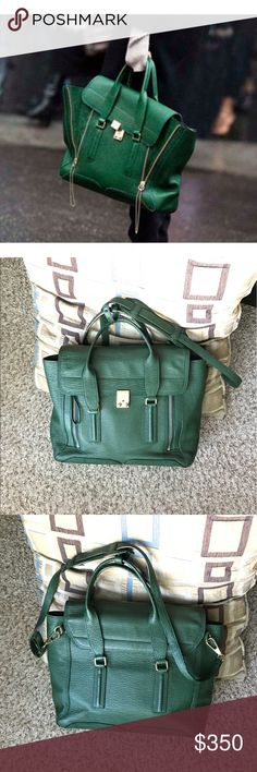 081df0a04e24 3.1 Phillip Lim Large green Pashli Satchel Great condition. Some wear on  the metal lock