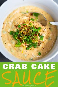 This creamy, lemony, smokey, and spicy remoulade sauce pairs amazingly with any seafood! It makes a wonderful crab cake sauce or po' boy sauce. Crab Cake Recipes, Sauce Recipes, Fish Recipes, Seafood Recipes, Cooking Recipes, Potato Recipes, Vegetable Recipes, Crab Cake Remoulade Sauce, Crab Cake Sauce