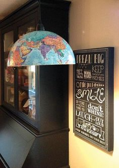 my globe pendant light tutorial in old house journal Mason Jar Pendant Light, Globe Pendant Light, Pendant Lamp, Globe Lamps, Globe Lights, Jar Lights, Diy Home Decor For Teens, Old Globe, Lampe Decoration