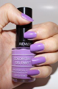 Beyond Blush: Revlon ColorStay Gel Envy Longwear Nail Enamel in Winning Streak
