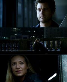 """Fringe 5x08 """"The Human Kind""""  OLIVIA:""""...the fact that I am here has nothing to do with anything except feeling...Etta is not gone...There is nothing Windmark can do about it because the love that we can share with her now is invulnerable to space and time; even to them.  I know that are hearts are broken and that it hurts, but that's what makes us human."""" PETER: """"Emotion is our weakness.""""  OLIVIA:""""No Peter, it's our strength because it's the one thing they don't have...I love you."""""""