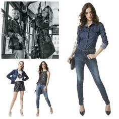 #poramaisb - Parceria da marca italiana Replay com C&A nas lojas amanhã. Bruno Glagliaso e Giovanna Ewbank  na campanha em clima la dolce vita.