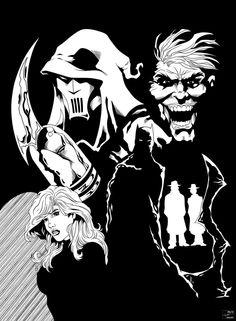 Batman: Mask of the Phantasm by NewEnglandSketcher by frostdusk
